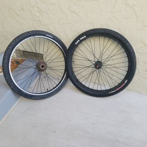 2 TIRES AND WHEELS for Sale in Fullerton, CA