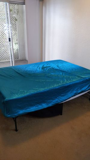 Full size bed with folding frame for Sale in CA, US