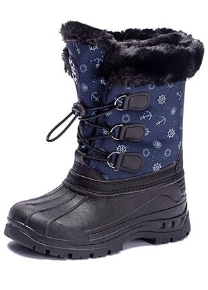 Kids Women Snow Boots Girls Winter Warm Waterproof Outdoor Slip Resistant Cold Weather Unisex Shoes (/Little Kid) for Sale in Tempe, AZ