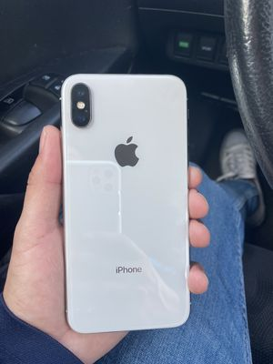 AT&T iPhone X 64GB Silver for Sale in Austin, TX