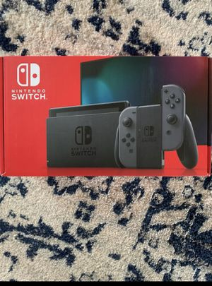 Nintendo Switch Console- Gray Joy-Con for Sale in Laurel, MD