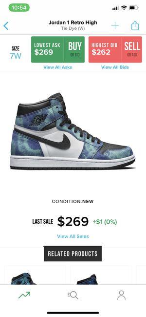 Jordan 1 tie dye for Sale in Industry, CA