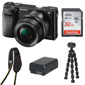 Sony A6000 Mirrorless Camera w/ accessories for Sale in Los Angeles, CA