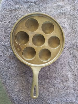 Griswold Ebelskiver cast iron pan for Sale in Placentia, CA