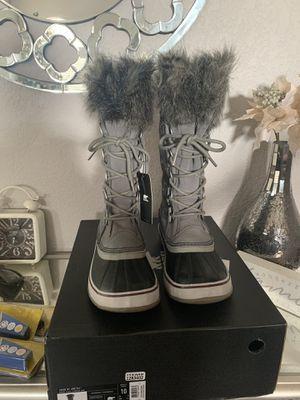 New authentic Sorel women's snow/rain boots for Sale in San Bernardino, CA