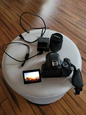 Canon rebel t3i DSLR camera body and lenses for Sale in San Diego, CA