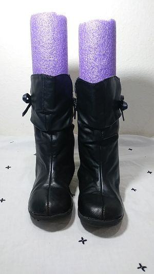Children's place black boots size 10 for Sale in Katy, TX