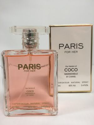 PARIS BY SECRET PLUS VERSION OF COCO CHANEL WOMEN PERFUME 3.4 NEW IN SEALED BOX for Sale in Arlington, TX