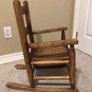 Wooden Youth Rocking Chair for Sale in Staten Island, NY