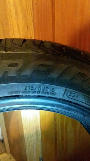 Starfire RS-C2.0 TIRES 215/55R16S for Sale in Pensacola, FL