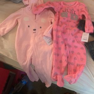 Onesies 9 Months + Jean jacket 12-18 Month for Sale in Whittier, CA