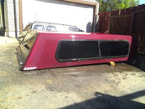 CAMPER SHELL for long bed Ford or Dodge for Sale in Riverside, CA