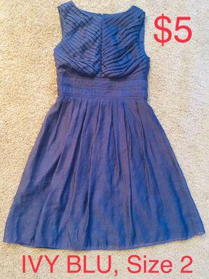 IVY BLU, Purple Sleeveless Dress, Size 2 for Sale in Phoenix, AZ