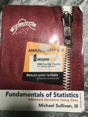 Fundamentals of statistics for Sale in Edcouch, TX