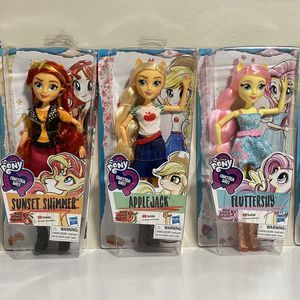 My Little Pony 5 Equestria Girls Friendship Classic Style for Sale in Pompano Beach, FL