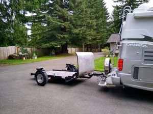 3 rail motorcycle trailer for Sale in Federal Way, WA