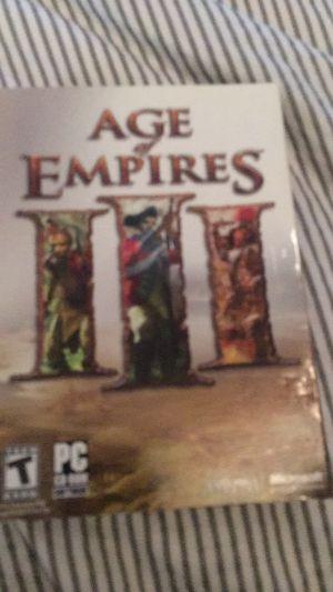 Age of Empires 3 for Sale in Miami, FL
