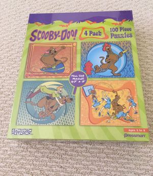 New, still shrink-wrapped Scooby Doo Puzzle for Sale in Lakeside, CA