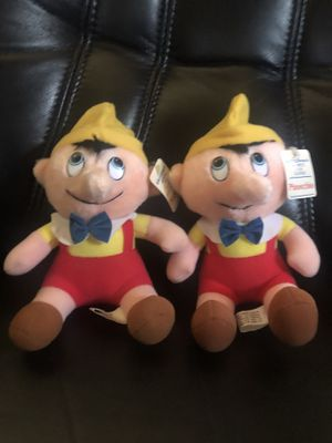 Pinocchio Plush Hardees 1985 Disney Stuffed Animal Vintage 80's Lot for Sale in Hayward, CA
