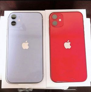 2 iPhone 11's for Sale in Newark, NJ