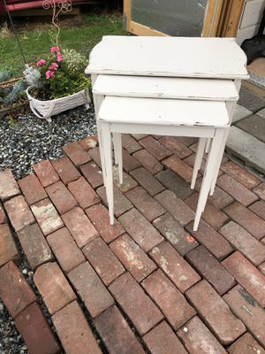 Vintage Nesting Tables for Sale in East Wenatchee, WA
