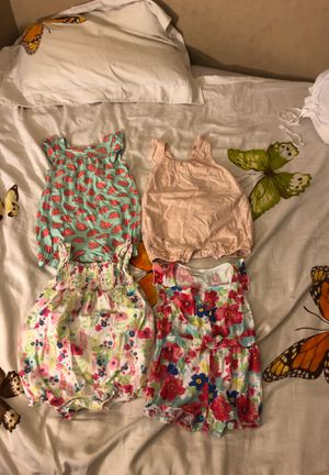 Girls rompers 18m like new, $5 for Sale in Los Angeles, CA