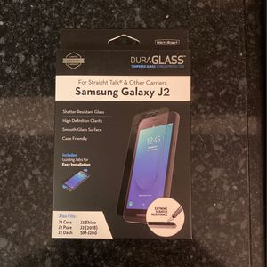 DuraGlass Tempered Glass Samsung Galaxy J2 for Sale in Cayce, SC