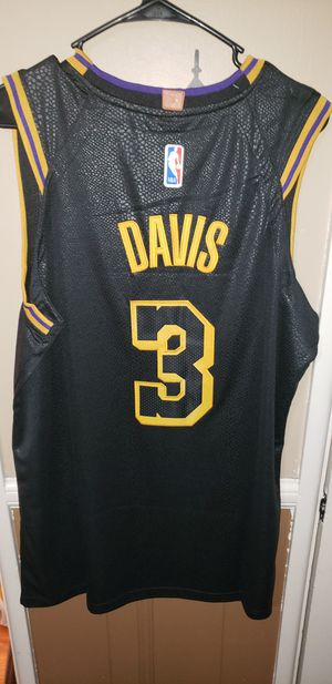 Men's XL Fitted Anthony Davis Los Angeles Lakers Jersey New with Tags Stiched Nike $45. Ships +$3 pick up in West Covina for Sale in West Covina, CA