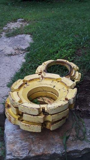 John deere tractor wheel weights for Sale in Blackstone, MA