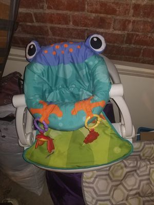Baby chair and toys for Sale in Denver, CO