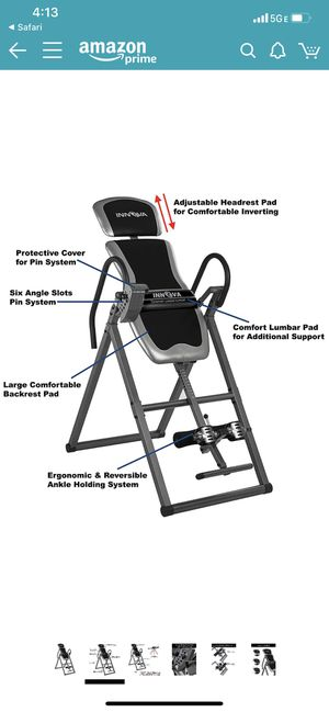 Inversion table. Brand new. for Sale in Tacoma, WA