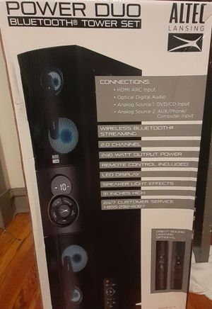 Altec bluetooth speakers for Sale in Richmond, VA