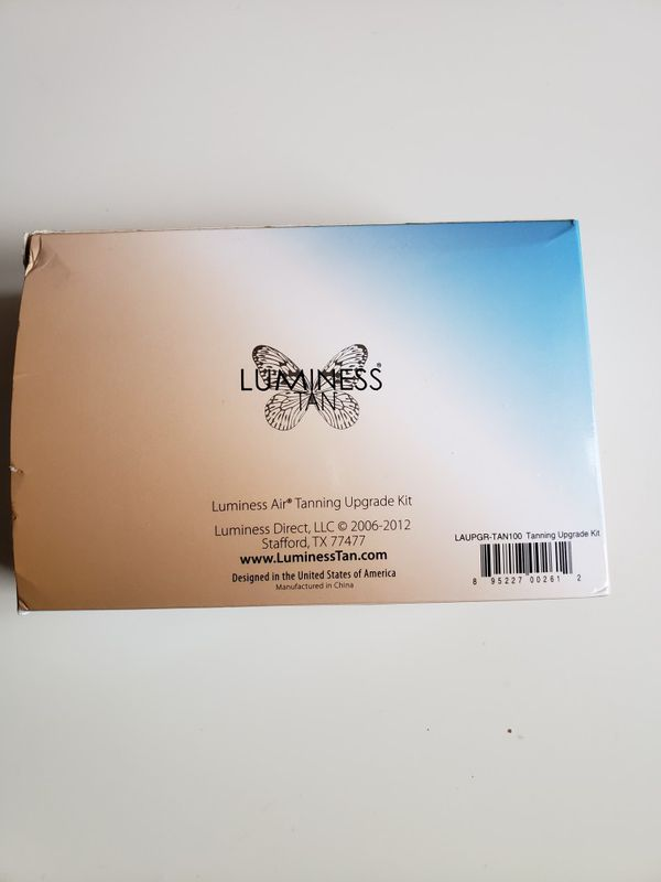 Luminess Air Airbrush Tanning Stylus Upgrade Kit w/Deep Solution No compressor. Condition is New. Open box.