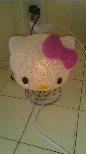 Hello Kitty plug in night light for Sale in Fresno, CA