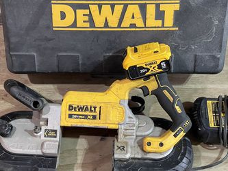 Dewalt Brushless Xr Deep Cut Band Saw Used With 5ah Battery And Charger Not Negotiable Works Perfect for Sale in Plant City,  FL