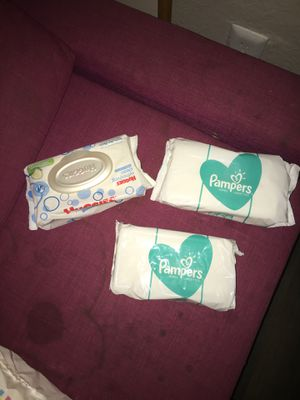 Baby wipes!!!! Unopened! for Sale in Tempe, AZ
