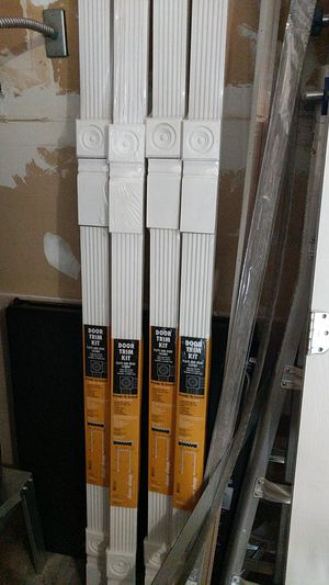 Flute and Reed casing door trim kit for Sale in Olympia, WA