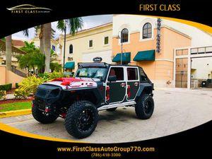 2018 Jeep Wrangler JK Unlimited for Sale in Miami, FL