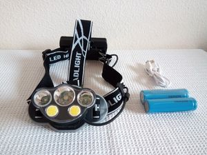 5X XM-L T6 White Red LED USB Headlamp Headlight for Sale in San Diego, CA