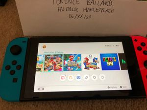 Used Nintendo Switch PreLoaded with games for Sale in Los Angeles, CA