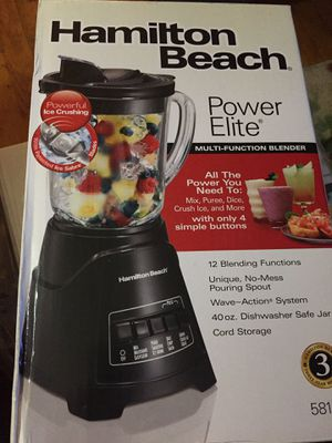 Hamilton Beach Power Elite Blender for Sale in North County, MO