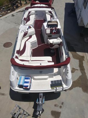 1996 Chapparal deck boat for Sale in Lakeside, CA