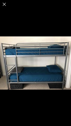 Bunk bed whit mattress whit deliver for Sale in Hialeah, FL
