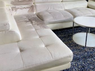 White Sectional Couch for Sale in Ashburn,  VA