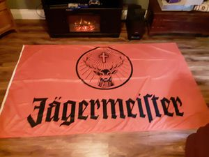 Large jagermeister flag for Sale in Oshkosh, WI