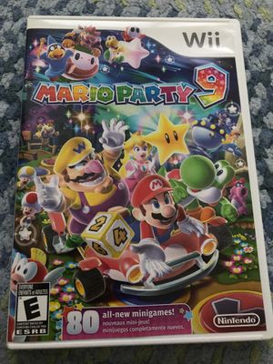 Super Mario Party 9 Wii Game for Sale in Larchmont, NY
