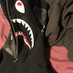 Bape Full Zip Shark Hoodie for Sale in Modesto, CA