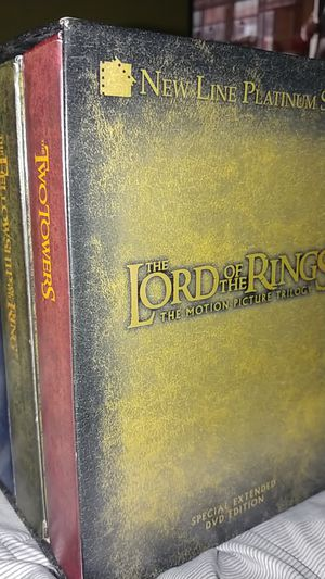 Lord of the Rings Trilogy Special Extended DVD Box Set for Sale in El Monte, CA