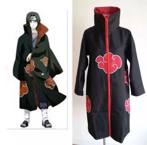 Naruto Akatsuki Uchiha Itachi Robe Cloak Coat Anime Cosplay Costume Halloween for Sale in Hayward, CA
