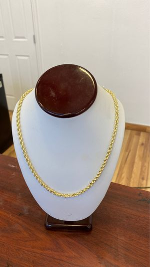 10 k rope chain , 26 inches ,10 grams @ $350 for Sale in Dallas, TX